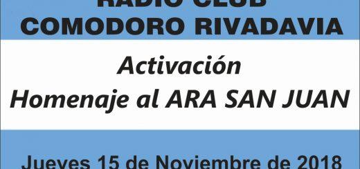 Homenaje Ara San Juan 520x245 - Activación Homenaje Submarino ARA San Juan - 15/11/18